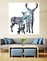 Художественная печать Животное Modern,1 панель Горизонтальная Печать Искусство Декор стены For Украшение дома