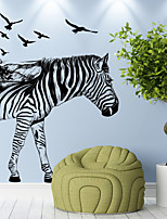 Animales Día Festivo Ocio Pegatinas de pared Calcomanías de Aviones para Pared Calcomanías Decorativas de Pared 3D,Papel Material