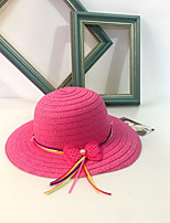 Women's Straw Sun Hat,Cute Casual Solid Spring Summer Fall