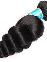 Tissages de cheveux humains Cheveux Malaisiens Ondulation Lâche 12 mois 1 Pièce tissages de cheveux