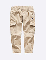 Boys' Casual/Daily Solid Pants Summer