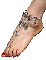 Women's Anklet/Bracelet Alloy Vintage Bohemian Silver Women's Jewelry For Daily Casual 1 pc