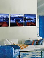 Art Print Landscape Modern Three Panels Horizontal Print Wall Decor For Home Decoration