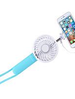 New Charging Fan Outdoor Handheld Self Timer Fan Big Wind Charging Treasure USB Fan Self Timer Lever