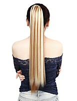 Neitsi 1Pcs 22'' 115g Striaght Wrap Around Ponytail Hair Extensions Synthetic Ombre F27/613#