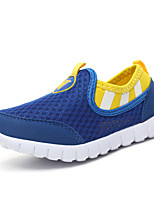 Child's Loafers & Slip-Ons Mesh Shoes Comfort Fabric Spring Summer Outdoor Athletic Casual Flat Heel Royal Blue Blushing Pink Blue Flat