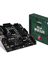 Msi b150m mörtel motherboard intel b150 / lga 1151
