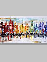Handgemalte Landschaft Horizontal,Modern Europäischer Stil Ein Panel Leinwand Hang-Ölgemälde For Haus Dekoration