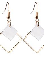 Drop Earrings Women's Girls' Movie Jewelry Euramerican Diamond  Fashion Personalized Party Dailywear Statement Gift Jewelry