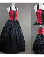 Une Pièce/Robes Gothique Lolita Cosplay Vêtrements Lolita Rétro Mancheron Sans Manches Ras du Sol Robe Pour Autre