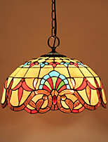 Pendant Light ,  Vintage Painting Feature for Mini Style Metal Living Room Bedroom Dining Room Study Room/Office Kids Room
