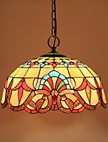 Lampe suspendue ,  Retro Peintures Fonctionnalité for Style mini MétalSalle de séjour Chambre à coucher Salle à manger Bureau/Bureau de