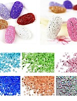 1000PCS  All Over The Sky Star The Crystal Glass Micro Drill 12 Color