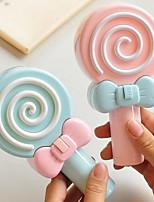 Cute Lollipop Child Charging Mini Fan Student Mini Fan Creative Handheld Portable Fan