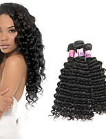 Peruvian Deep Wave Remy Wet And Wavy Virgin Hair 3 Bundles 8A Mink Hair Weave Bundles Deep Wave 300G