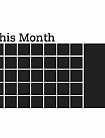 Desenho Animado Palavras e Citações Quadro-negro Adesivos de Parede Autocolantes de Aviões para Parede Autocolantes de Parede Quadro-Negro