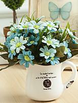 15Heads/Bouquet Match Colors Chrysanthemum  Home Decoration Artificial Flower