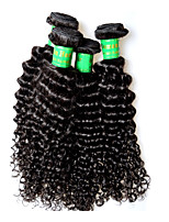 400g 4bundles indian kinky curly virgin hair deal 8a grade indian remy human hair extensions weaves full end 100g/pcs natural black color
