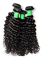 400g 4bundles indian kinky rir cabelo virgem cabelo 8a grau indiano remy extensões de cabelo humano tece completa final 100g / pcs cor