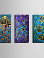 E-HOME Stretched Canvas Art Lovely Sea Creatures Decoration Painting One Pcs