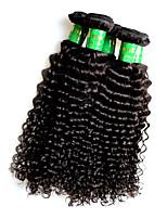 Atacado indiano remy cabelo humano kinky estilo curly 5bundles 500g lote natural cor de cabelo indiano preto
