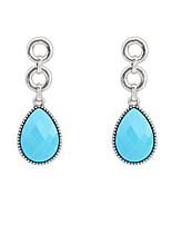 Euramerican Droplets Contracted Fashion Elegant Luxury Earrings  Women's Party Drop Earrings Movie Jewelry