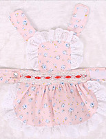 Dog Clothes/Jumpsuit Dog Clothes Cute Birthday Princess Blushing Pink Blue