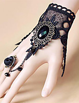 Belly Dance Dance Glove Women's Performance Metal Appliques 1 Piece Bracelets