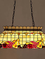 Luci Pendenti ,  Stile Tiffany Pittura caratteristica for Cristallo Anti-riflesso Metallo Interno Sala da pranzo Sala studio/Ufficio4