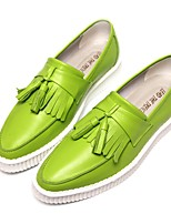 Men's Sneakers Comfort PU Tulle Spring Casual Green Black White Under 1in