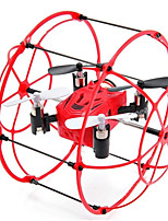 Dron M66 4 Canales - Vuelo Invertido De 360 Grados Quadcopter RC Cable USB Hélices Destornillador