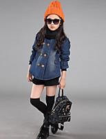 Girls' Solid Color Suit & Blazer Long Sleeve