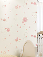 Contemporary Wallpaper Art Deco Floral Self Adhesive Wallpaper Wall Covering Non-woven Fabric Wall Art