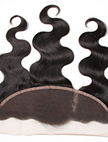 Malaysian Lace Frontal Closure Loose Wave 134 Ear to Ear Full Lace Frontal Unprocessed Human Hair