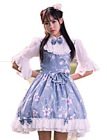 Outfits Wa Lolita Vintage Inspired Cosplay Lolita Dress Vintage Short / Mini For