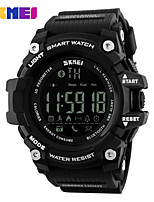 SKMEI 1227 Brand Men Digital Wristwatches Smart Watch Big Dial Fashion Outdoor Sport Watches