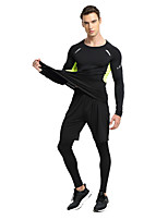 Men's Running Breathable Sweat-wicking Spring Summer Fall/Autumn Yoga Elastane Terylene LooseOutdoor clothing Performance Leisure Sports