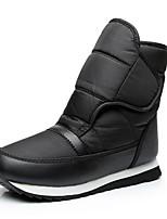 Women's Boots Comfort Fabric Spring Casual Comfort Blue Black Flat