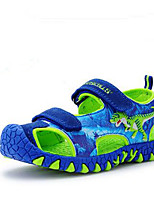 Boys' Sandals Luminous Shoe Cowhide Summer Casual 3D Dinosaur Shoes