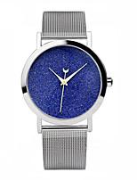 Жен. Модные часы Кварцевый С автоподзаводом сплав Группа Серебристый металл