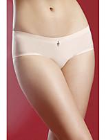 Femme Rétro Solide Sous-vêtements Ultra Sexy Slips
