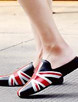 Men's Slippers & Flip-Flops Spring Comfort PU Casual Gray Black