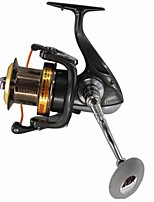 Big Fishing Reel Spinning Reels 4.61 13 Ball Bearings  Surf Reels Exchangable Sea Fishing Spinning Freshwater Fishing Trolling & Boat Fishing Carp