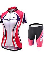Maillot et Cuissard de Cyclisme VéloMaillot Vêtements de Compression/Sous maillot Collants Shorts Rembourrés Maillot +