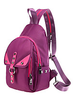 Women Backpack PU All Seasons Formal Sports Casual Outdoor Office & Career Shopping Bucket Zipper Purple Gray Black Green