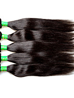 8a indian virgin hair silk straight 5bundles 500g lot on sale wholesale price 100% real indian remy human hair extensions weaves natural black color