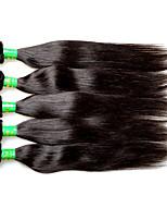 8a india virgem cabelo seda reta 5bundles 500g lote na venda preço por atacado 100% real indiano remy extensões de cabelo humano tece