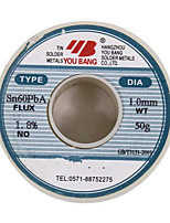 Aia Active Solder Wire Series Sn60Pba-1.0Mm-50G/ Coil