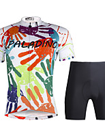 Paladin Sport Men  Cycling Jersey  Shorts Suit DT757