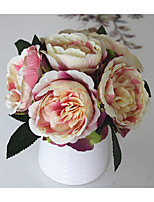 1 Branch Silk Peonies Tabletop Flower Artificial Flowers